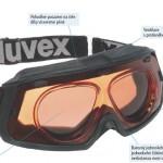 Lyžařské dioptrické brýle