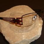 Vázaná brýle s elegantním designem