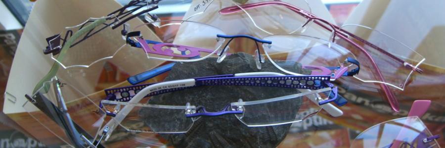 Vrtané ručně vybrušované brýle
