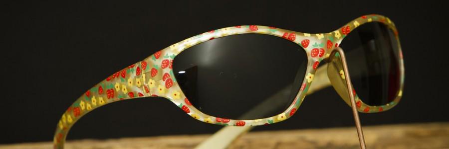 Dětské sluneční plastové brýle