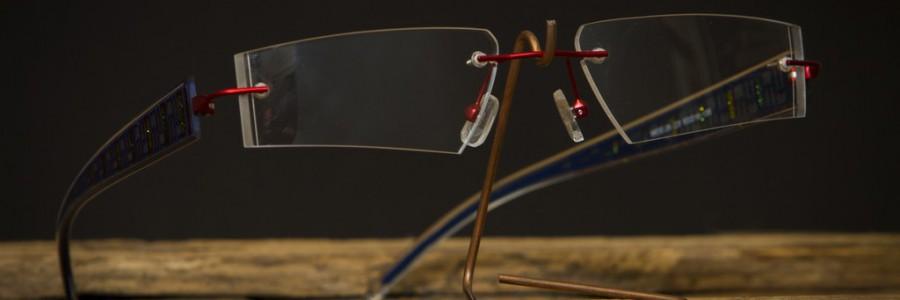 """Vrtané ručně vybrušované brýle """"HEDA"""""""