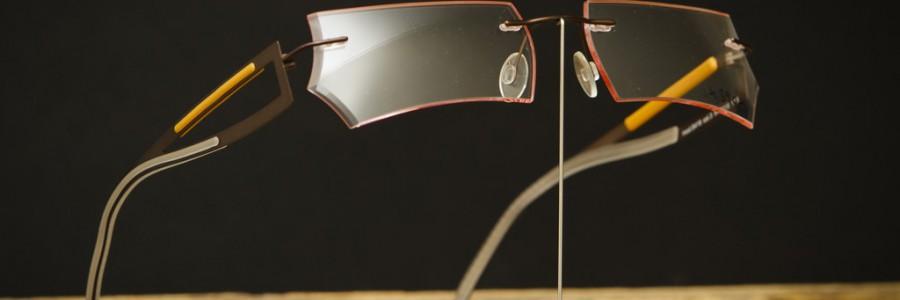 """Vrtané kreativní ručně vybrušované brýle """"LINDA"""""""