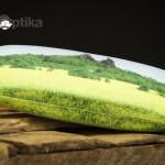 Brýlové pouzdro Trosky + mikrovlákno s motivem Prachovských skal