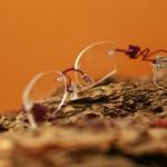 Kreativní vrtané ručně vybrušované brýle