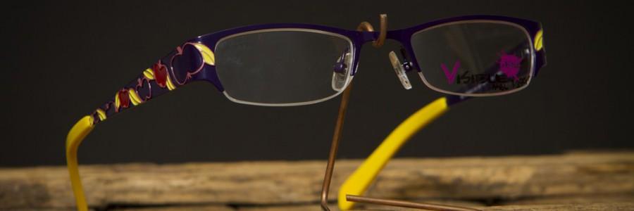 Dětské dioptrické vázané brýle VISIBLE